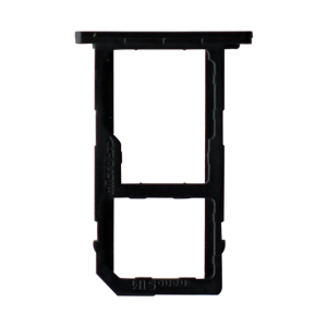 Sim Card Tray for use with LG K10 (2018) - Black