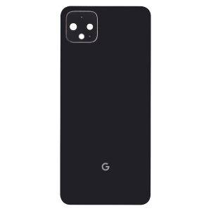 Back Housing with Small Parts for use with Google Pixel 4XL (Black)