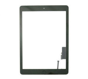 Platinum Digitizer for use with iPad 5 (Black) w/Home Button