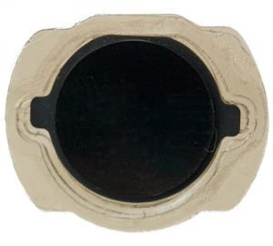 Home Button, Button with Rubber Surround Only, for use with iPod Touch Gen 4