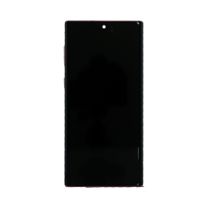 OLED Digitizer Assembly w/Frame for use with Samsung Note 10 (Aura Pink)