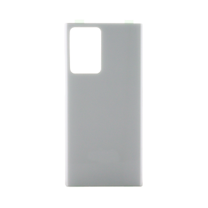 Back Glass Cover for use with Samsung Note 20 Ultra (Mystic White)