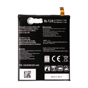 Battery for use with LG Q8
