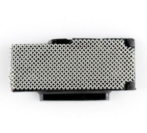Loud speaker anti-dust mesh with bracket for use with iPhone 4S
