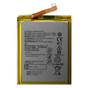 Battery for use with Huawei Honor 7A
