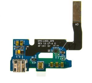 Charging Dock with Flex Cable for use with Samsung Galaxy Note II Sprint l900