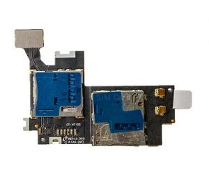 SIM Card Reader Flex Cable for use with Samsung Galaxy Note II International/AT&T N7100/i317