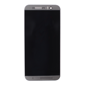 LCD and Digitizer Assembly for use with HTC one M9, Black, no Frame