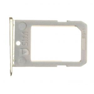 SIM Tray for use with the Samsung Galaxy S6 Edge, Gold
