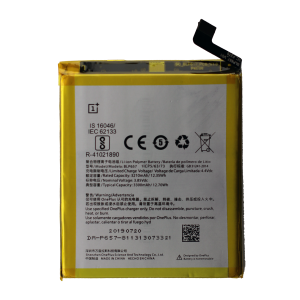 Battery for use with OnePlus 6