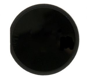 Black Home Button for use with iPad 2, 3, and iPad 4