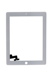 Platinum Digitizer for use with iPad 2 (White)