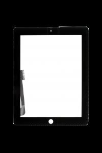 Platinum Digitizer for use with iPad 3/4 (Black)