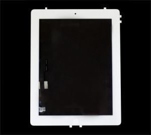iBic Glass and Digitizer Full Assembly, White, for use with iPad 3