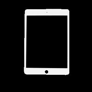 Platinum LCD/Digitizer for use with iPad Mini 5 (Sleep/Wake Sensor Installed) (White)