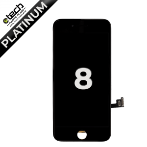 Platinum LCD Assembly for use with iPhone 8/ iPhone SE(2020)(Black)