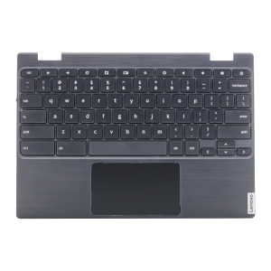 Keyboard/Palmrest/Touchpad for use with Lenovo 100E Gen 2 Chromebook, Part Number: 5CB0U26489