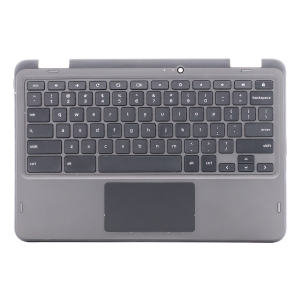 Keyboard/Palmrest/Touchpad for use with  Dell5190 2 in 1 Chromebook, Part Number: 02W44K