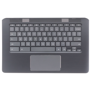 Keyboard/Palmrest for use with HP 14 G5 Chromebook, Part Number: L12594-001