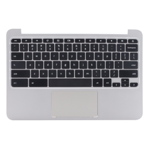 Keyboard/Palmrest/Touchpad for use with HP11 G3/G4Chromebook, Part Number: 788639-001