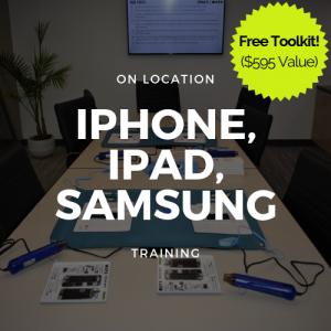 Full Apple (iPad, iPhone) Samsung 2 Day Training (On Location) + Toolkit
