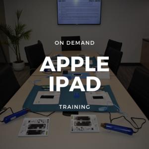 On Demand Apple iPad Training