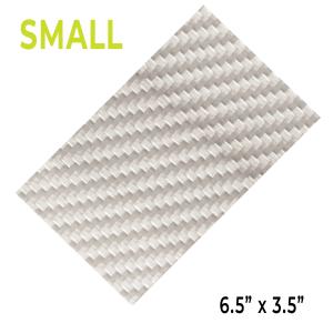 ProtectionPro - Small Ultra Film (Silver Carbon Fiber)