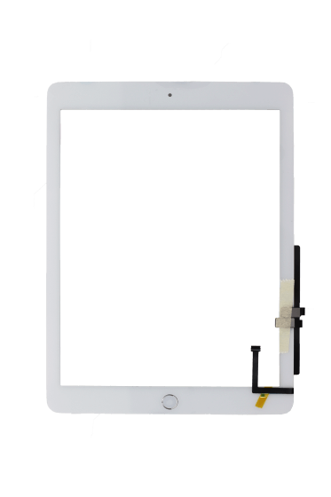 Premium Plus Digitizer (Full Assembly) for use with iPad 6 (White)