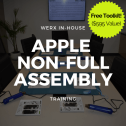 Apple Non full assembly Training + Toolkit