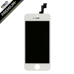 Premium Plus LCD & Digitizer (Full Assembly) for use with iPhone 5SE (White)