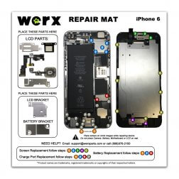 Magnetic Screwmat - iPhone 6