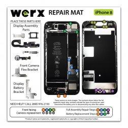 Magnetic Screwmat - iPhone 8