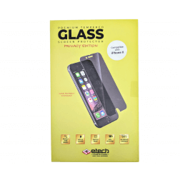 Premium Privacy Tempered Glass Protector for use with iPhone X/Xs (Retail packaging)