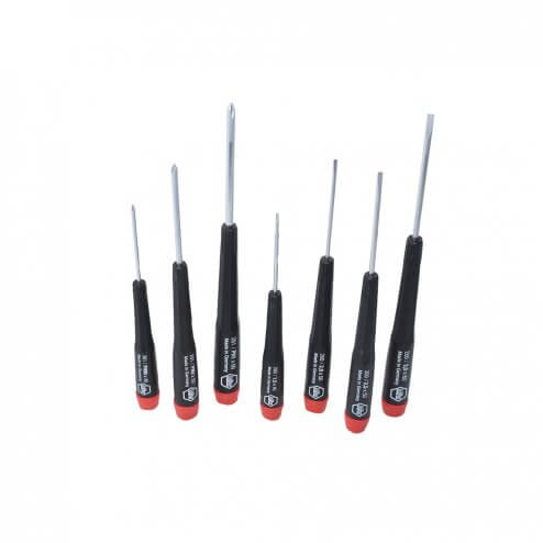 Wiha 26197 7 Piece Precision Slotted & Phillips Set