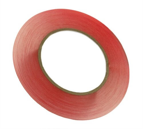 1mm x 36yd Red Tape Adhesive