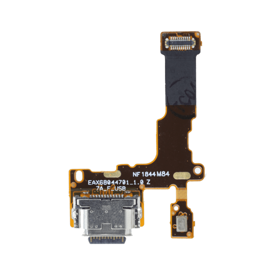 Charge Port w/ Flex Cable for use with LG Stylo 4