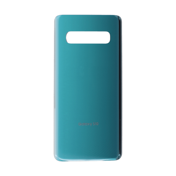 Back Glass for use with Galaxy S10 (Prism Green)