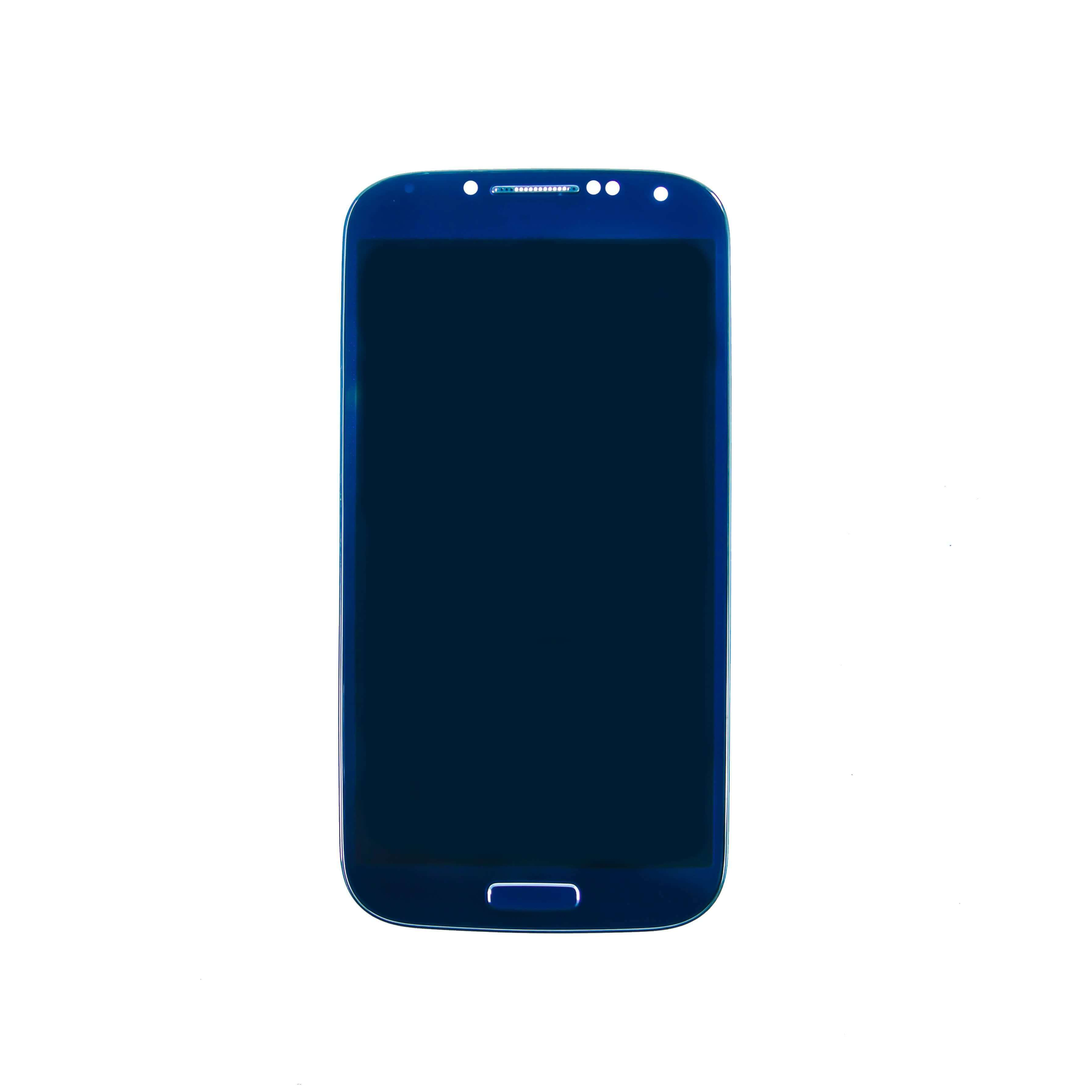 LCD & Digitizer Assembly for use with Samsung Galaxy S4 SCH-i545, Arctic  Blue, with Frame (Sprint/Verizon)