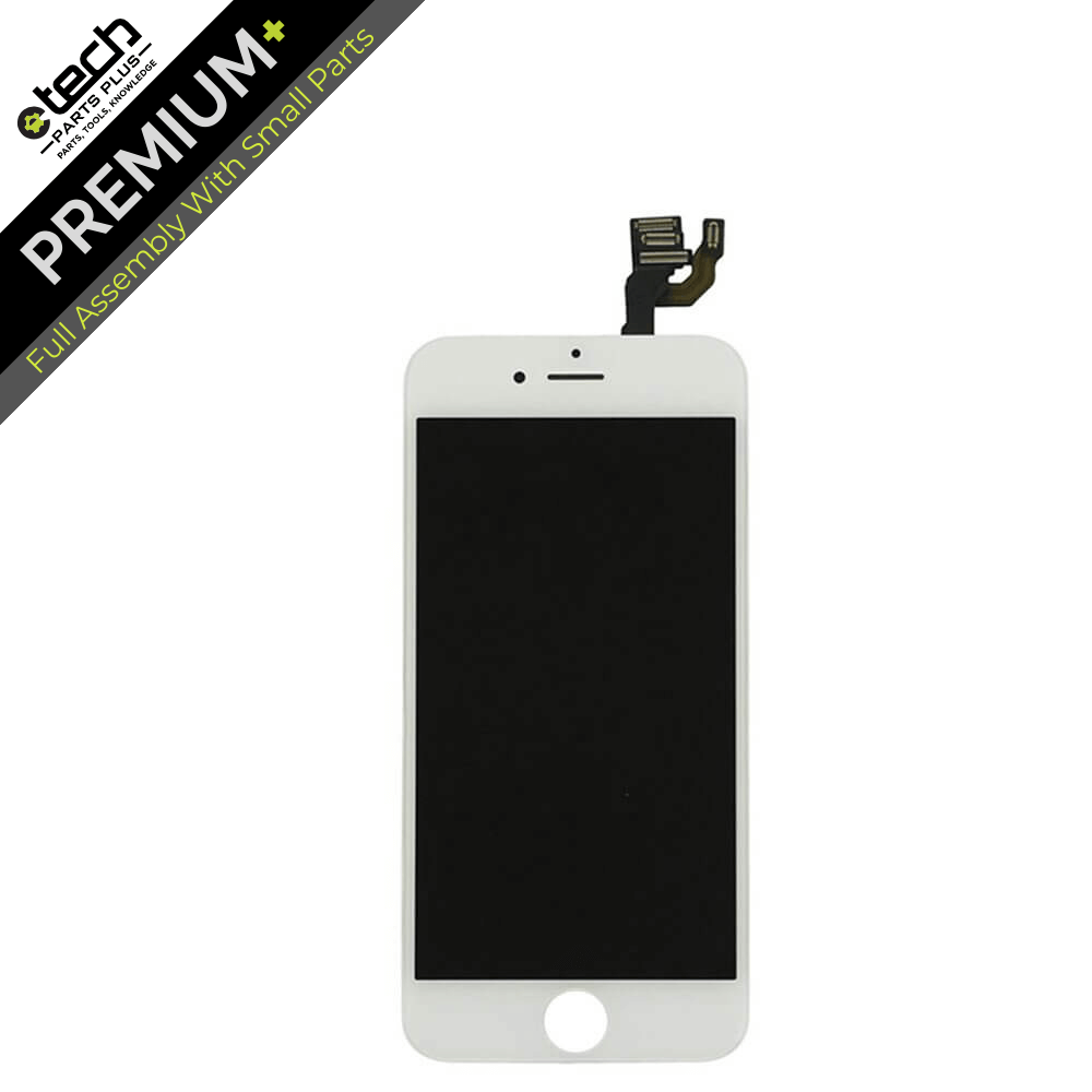 uk availability 49fea e03d1 Premium Plus LCD & Digitizer (Full Assembly) for use with iPhone 6S (White)
