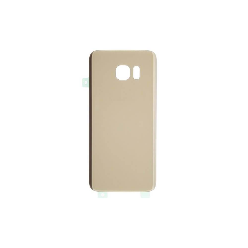 low priced cc7cf 81b1a Back Cover for use with Samsung S7 Edge (Gold)