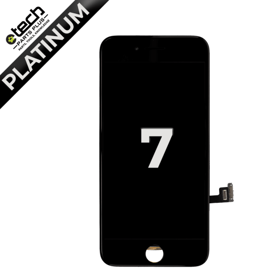 Platinum LCD Assembly for use with iPhone 7 (Black)