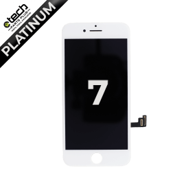 Platinum LCD Assembly for use with iPhone 7 (White)