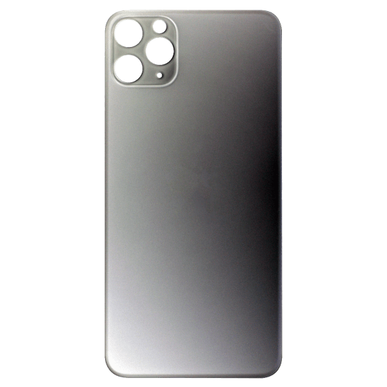 Back Glass (No Logo) for use with iPhone 11 Pro Max (White)