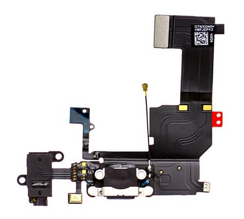 Charging Dock/Headphone Jack Flex Cable for use with the iPhone 5C
