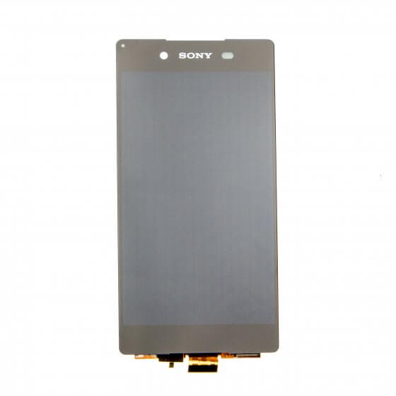 LCD and Digitizer Assembly for use with Sony Xperia Z3+, Black, no Frame