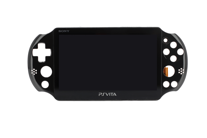 LCD Assembly for use with Sony PS Vita Slim (Black)