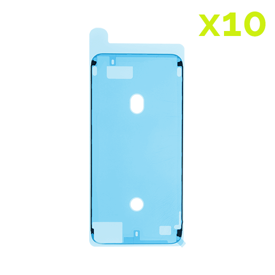 High Quality Waterproof Adhesive for use with iPhone 6S+(Wht)(10 Pack)