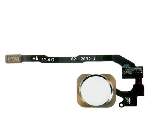Home Button Flex Cable for use with the iPhone 5S, Gold