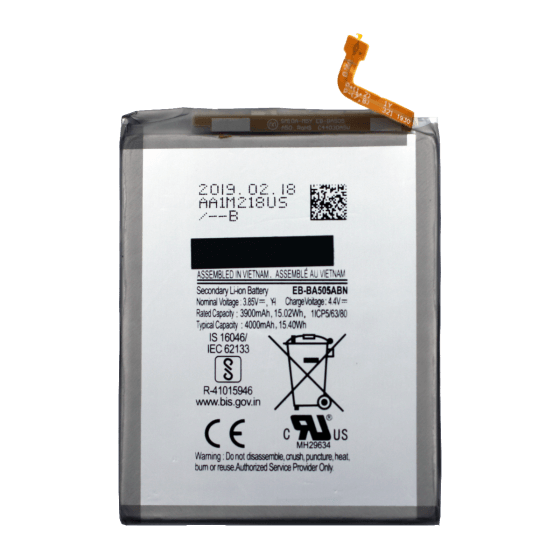 Battery for use with Galaxy A50