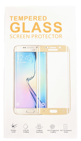S6 Edge Tempered Screen Protector